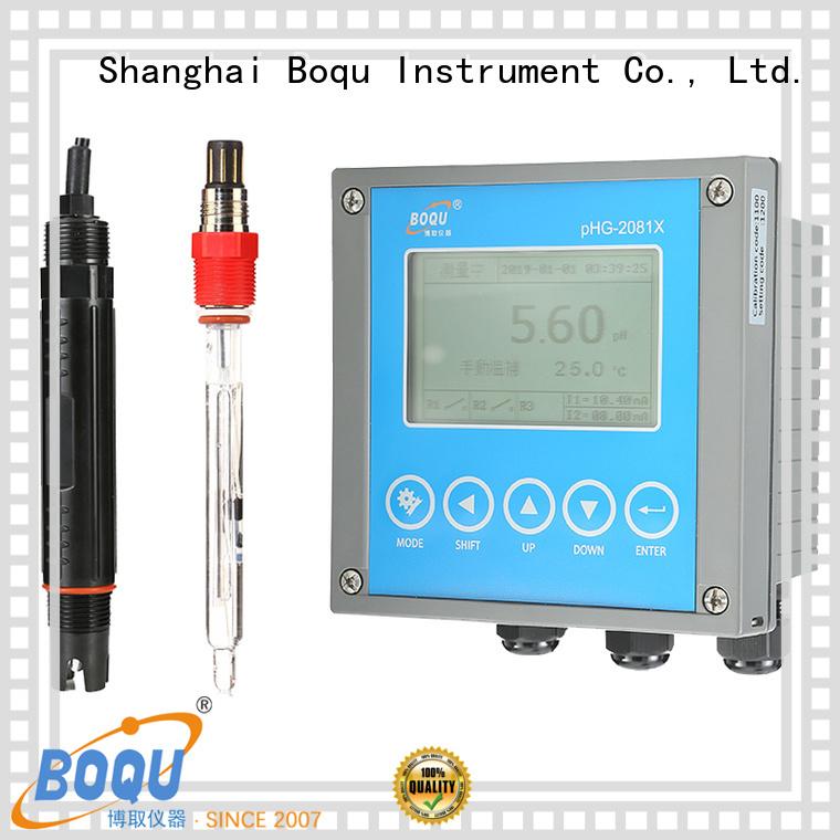 BOQU orp controller manufacturer for soil measurements