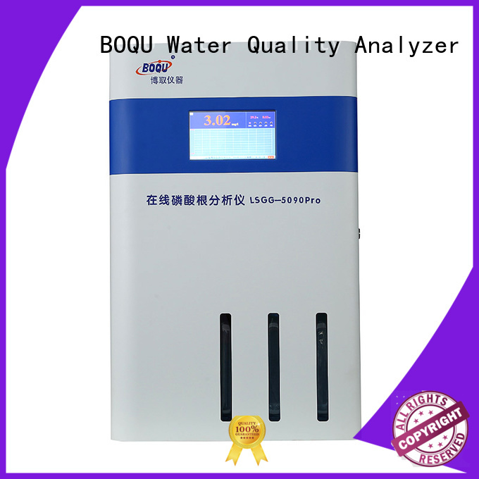 BOQU efficient online phosphate analyzer with good price for municipal wastewater effluents