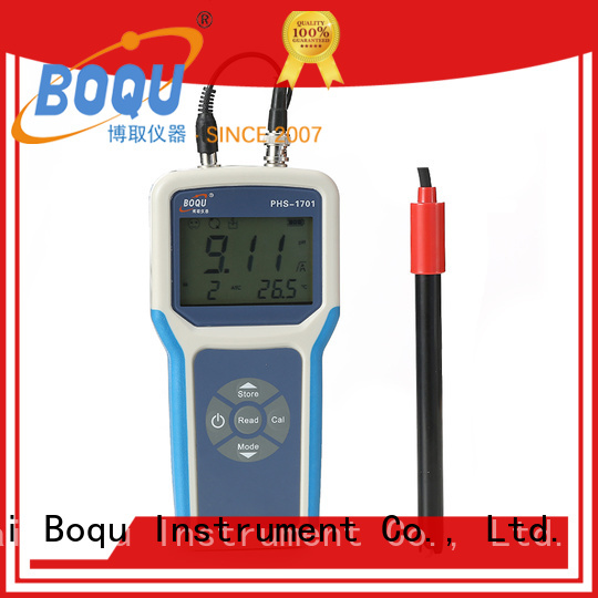 durable portable ph meter from China for field sampling