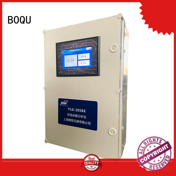 BOQU industrial chlorine analyzer with good price for hospitals