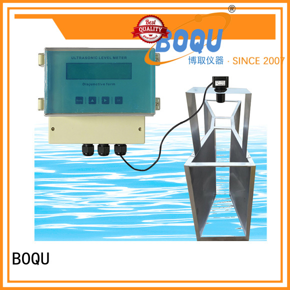 BOQU ultrasonic flow meter manufacturers for monitoring water pollution