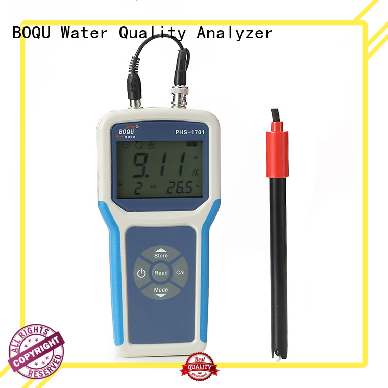 BOQU reliable portable ph meter directly sale for environmental monitoring