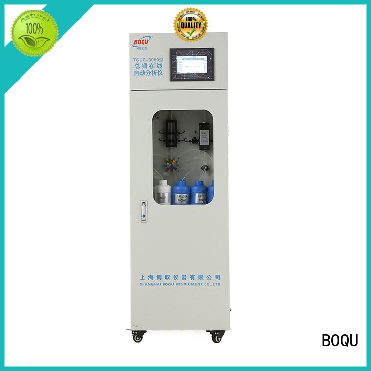 BOQU stable cod analyzer supplier for industrial wastewater