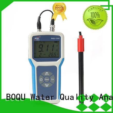 BOQU waterproof portable ph/orp meter manufacturer for environmental monitoring