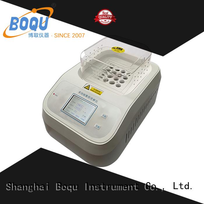 BOQU cod analyzer series for waste water application