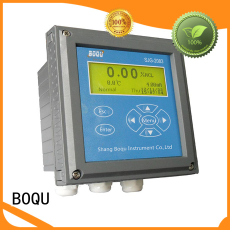BOQU inductive alkali concentration meter with good price for water plant
