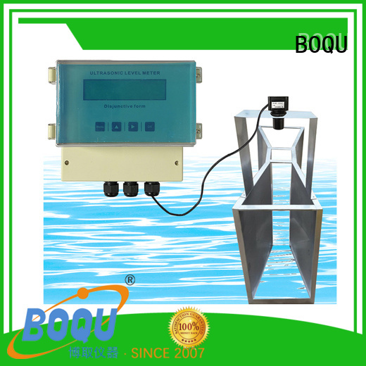 BOQU ultrasonic flow meter supply for waste water application