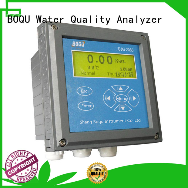 BOQU quality acid concentration meter series for chemical industry