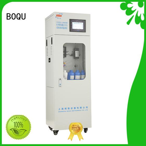 BOQU intelligent cod analyzer supplier for industrial wastewater treatment