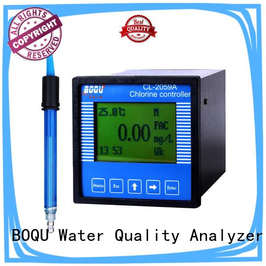 multi-parameter display residual chlorine meter manufacturer for hospitals