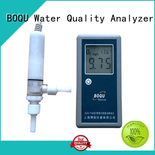 BOQU portable dissolved oxygen meter wholesale for water quality