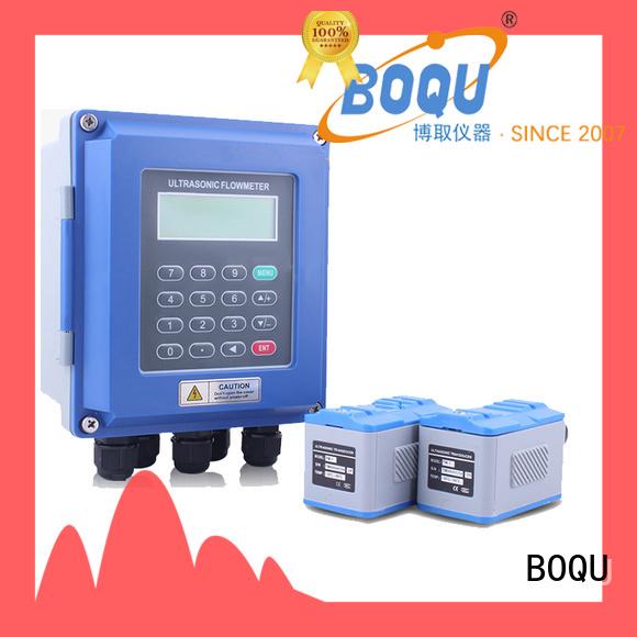BOQU ultrasonic flow meter company for waste water application