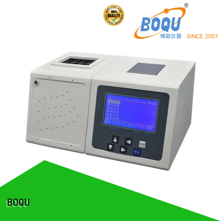 BOQU reliable cod analyzer factory price for waste water application