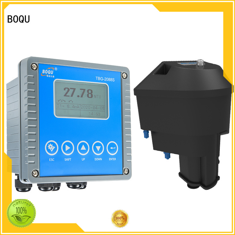 BOQU online turbidity meter supplier for water station