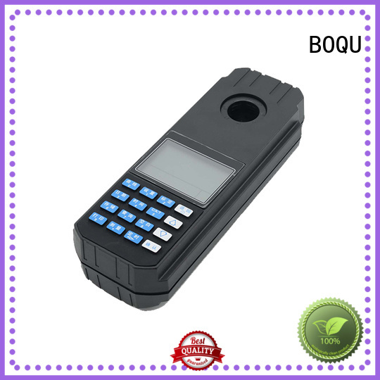BOQU high-quality portable residual chlorine meter manufacturers for monitoring water pollution
