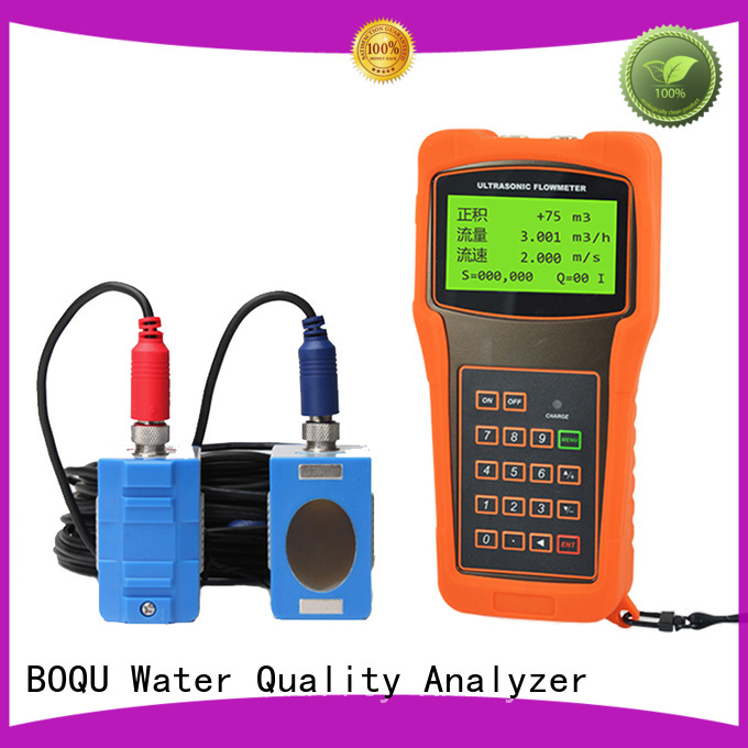 BOQU ultrasonic water flow meter factory for wastewater treatment plants