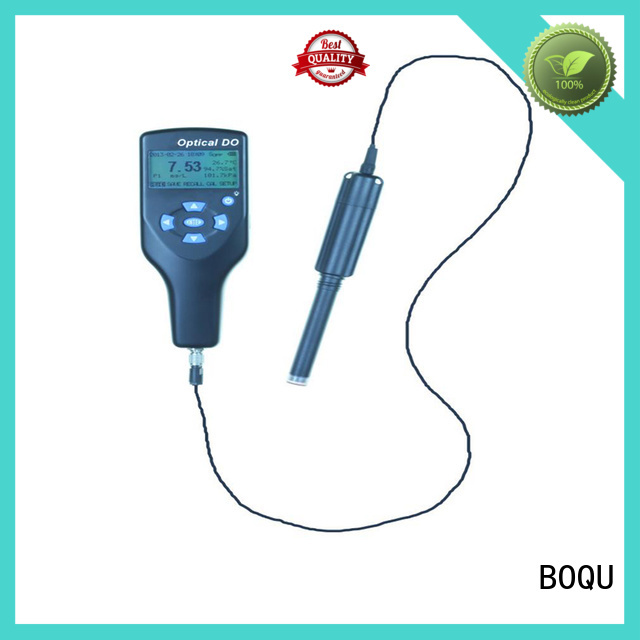 BOQU portable dissolved oxygen meter supplier for water supply