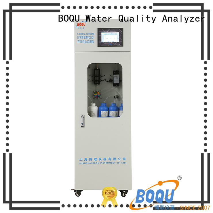 BOQU cod analyser supplier for industrial wastewater