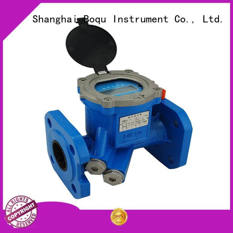 BOQU custom ultrasonic flow meter company for waste water application