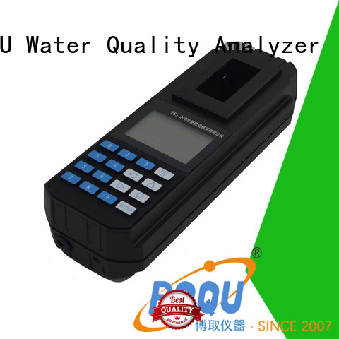 BOQU portable suspended solids meter supplier for research institutes