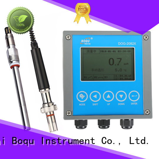 BOQU dissolved oxygen meter series for food production