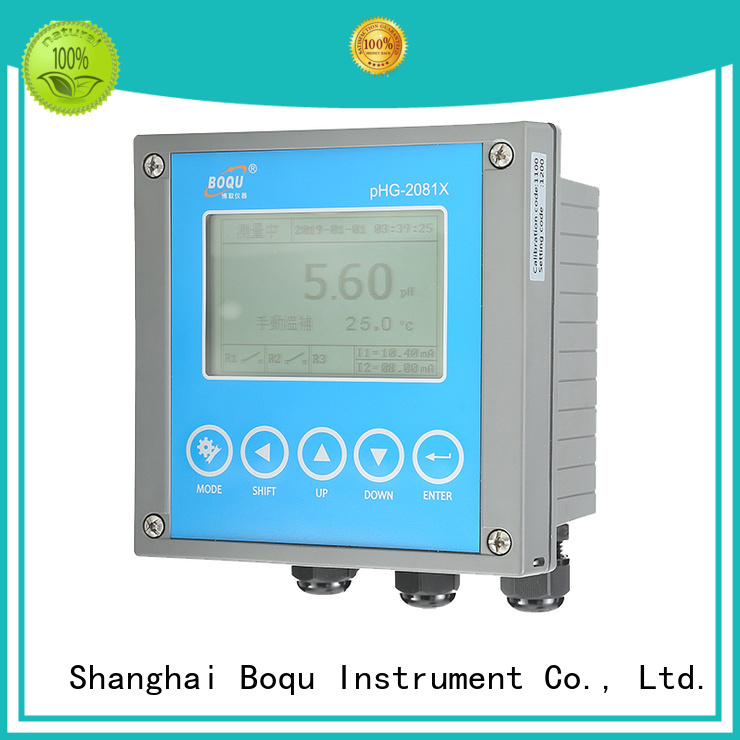 high precision conductivity meter supplier for waste water